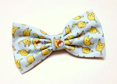 Hey, I found this really awesome Etsy listing at https://www.etsy.com/listing/164412590/pokemon-clip-on-bow-tie-for-men