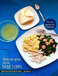 """¿Qué se come en la fase 1 de la dieta Dukan? ¿Solo huevos, carne y avena? ¿No hay ninguna verdura permitida? Dudas frecuentes que tienen su respuesta en este post. Bienvenidos a """"Dukan Avanza…"""