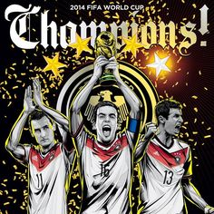 World Cup 2014 Champions - Germany