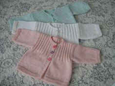 Encore des ensembles pour ces chers petits (1à3mois) - Tricot, crochet, doudous de Memie Cathy