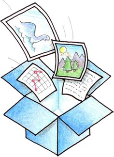 Dropbox - share files on home computer, work computer, phone