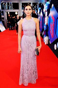 Nina Dobrev attends the MTV Europe Music Awards 2016 on November 6, 2016 in Rotterdam, Netherlands.