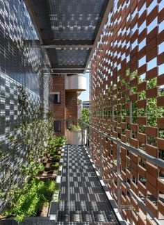 New Exterior Architecture Facade Entrance Ideas Brick Architecture, Architecture Details, Interior Architecture, Tropical Architecture, School Architecture, Building Facade, Green Building, Building Skin, Facade Design