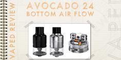 Geekvape Avocado 24 bottom air flow