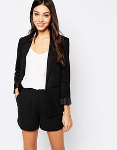 Oasis Ponte Jacket - Would love this for work in the Spring/Summer!