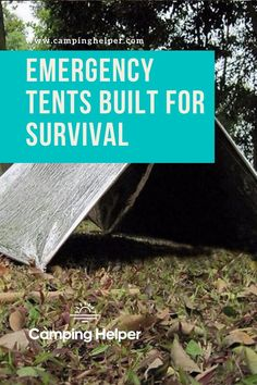 Some of the options on this list will prepare you for any scenario and include items like a firestarter, LED light, compass, or whistle that can be heard from up to a mile away.  #camping#tents#tentcamping Couples Camping, Best Tents For Camping, Cool Tents, Survival Tent, Survival Shelter, Space Blanket, Safety Kit, Camping For Beginners, Shelter Tent
