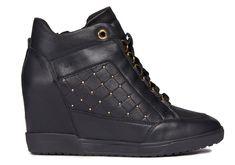 Geox CARUM Sneakers Montantes pas cher - Baskets Femme Geox -  Ventes-pas-cher.com 70c67fc94a9