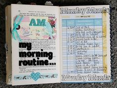 Page / morning routine