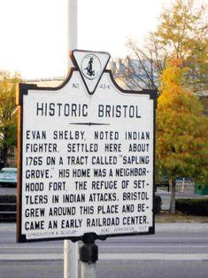 Bristol TN; my home.