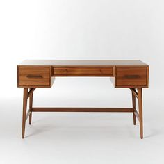 $599 - could maybe wait until they have a discount. Mid-Century Desk - Acorn | West Elm
