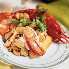 Lobster Newburg.