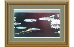 """BRIAN DAVIS WATERLILY """"B"""" Huntington Library Art Collections 24x36 POSTER PRINT #Realism"""