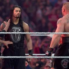 Nothing and no one will intimidate The Big Dog at The Ultimate Thrill Ride! Wrestlemania 31, Wwe World, Roman Reigns, Roman Empire, Big Dogs, Champion, Baseball Cards, Photo And Video, Instagram Posts