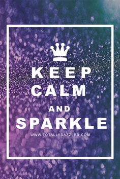 Sparkle solves everything! Shop www.totallydazzled.com today for all your wedding rhinestone needs; napkin rings, buckles, brooches, and more! Mood Quotes, Life Quotes, Sparkle Quotes, Jen Jen, Cute Words, Soul Healing, Word Play, Rhinestone Wedding, 70th Birthday