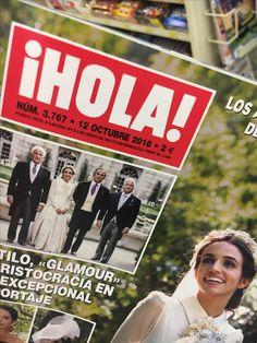 """La revista """"Hola"""" en español. Este revista es totalmente en español y es el mas popular revista en los estados unidos que es en español. También hay copias en inglés, por que las revistas están hechos en los estados unidos."""