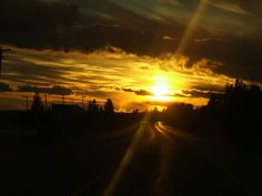 Coming home from P.E.I. Coming Home, Celestial, Sunset, Outdoor, Outdoors, Sunsets, Outdoor Games, Outdoor Living