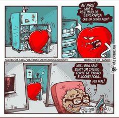 Razão vs emoção Top Memes, Funny Memes, Hilarious, Cringe Channel, Heart Vs Mind, Portuguese Quotes, Little Memes, You Are My Everything, Prayer Room
