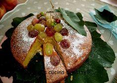 La buona cucina di Katty: Torta soffice con uva - Moist cake with grapes