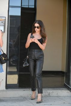 Lea Michele leaving a secret photo shoot