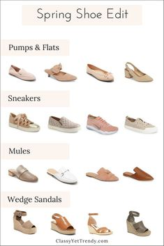 97734ee69c9 Spring Shoe Edit - See a few new shoes I ve found and find out