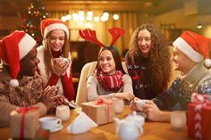 100 icebreaker questions for Christmas parties. Get guests talking at your holiday celebration with these fun and festive ideas.