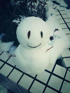 雪ヤバイっすね(笑)