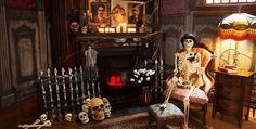 Skeletons & Skulls Halloween Decorations