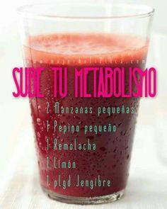 Sube el metabolismo