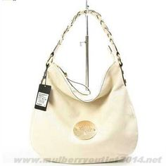 129742e058 2014 Womens Mulberry Small Daria Leather Shoulder Bag Beige Fast Shipping Mulberry  Daria