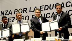 Firman SNTE y gobierno de Guanajuato alianza histórica para combatir rezago educativo