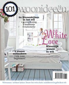 Cover Dutch creative interior magazine 101Woonideeen 07-2012