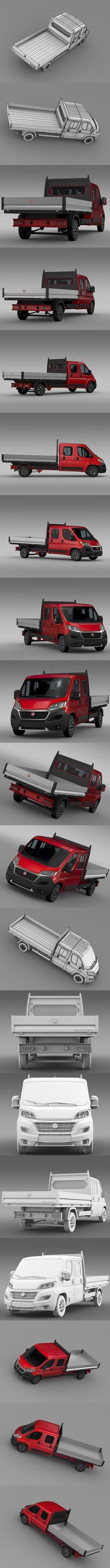 Fiat Ducato Crew Cab Truck 2016. Commercial #ducato