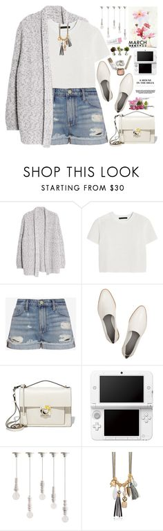 """""""2242. Stop hating yourself for everything you aren't and start loving yourself for everything you already are."""" by chocolatepumma ❤ liked on Polyvore featuring Violeta by Mango, Alexander Wang, Frame Denim, Salvatore Ferragamo, Nintendo, Seletti and Nearly Natural"""