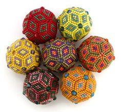 Jean Power - peyote stitch geometric