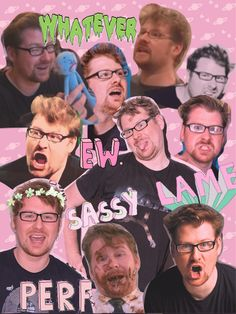 Justin Roiland Collage i Doc And Mharti, Justin Roiland, Dan Harmon, Anxiety In Children, Rick And Morty, Wattpad, The Creator, Fan Art, Funny Pins