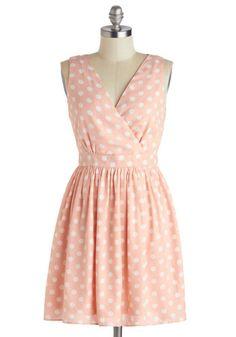 Love Ya Dots Dress, #ModCloth