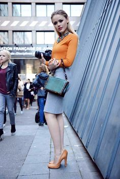 Kristina Bazan Street style