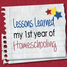 Lessons Learned My First Year of Homeschooling