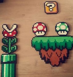 Super Mario World Hama Perler Bead