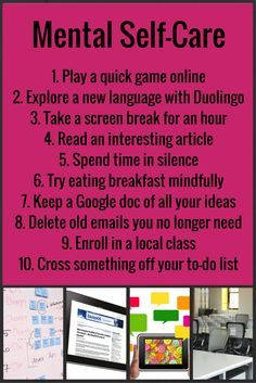 Self care guide free printable free and mental health self care guide sciox Gallery
