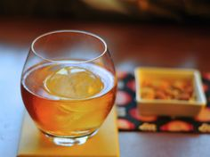 This Godfather~ Scotch and amaretto drink is a cousin of the Rusty Nail.