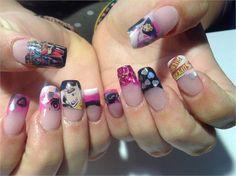 Day 15: Super Hero Nail Art nailsmag.com