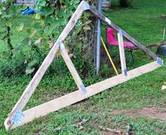 I am going to build a shed and I need this tutorial: How to Build a Simple Wood Truss