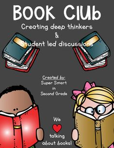 Book Club - Creating deep thinkers and Student led discussions. Every teacher…