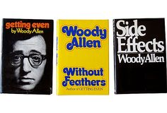 Woody Allen Books, 1970-  #onekingslane and #designisneverdone