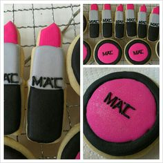 mac makeup cookies lipstick eyeshadow