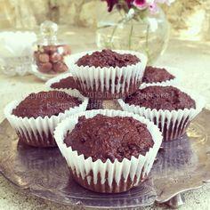 Шоколадные кексы из фундука (без муки, масла, веганские)