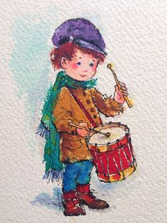 Drummer Boy Christmas Cards