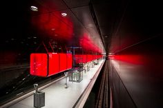 U-Bahn Station Hafencity Universität, Hamburg, shot by Max Inke, via Flickr