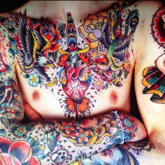 Chest ink - great color!